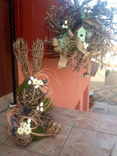 Easter#Bunny#Wreath