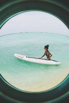 indie-braids:  picture from a few days ago from when i went paddleboarding x