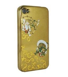 Gold Fujin,Raijin for iPhone4/4S