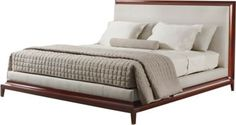 203_01_1_The platform bed is one of the most architectural but overlooked furniture forms. Of course, Thomas Pheasant sees things a little differently. There really isn't any reason it can't be appropriately restrained but still luxurious.
