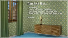 GoS Advent 2011 (TS2 only) curiousb turn back time wallpapers