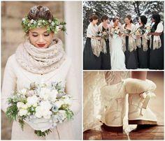 Preciosa boda-invierno