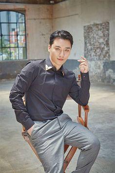 """Seungri for """"Maekyung Economy: 39th Anniversary"""" [MAGAZINE] • BIGBANG Updates"""