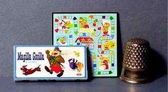 Magilla-Gorilla-Game-1964-1-12-Doll-House-Miniature-Accessory-game-toy