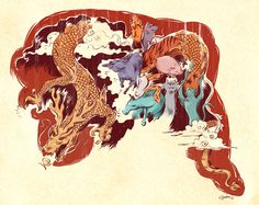 chinese illustration - Google Search