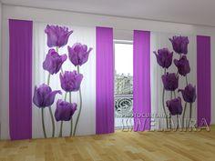 Waltz of Tulips #Wellmira #ModernCurtains #PhotoCurtains #PanoramicCurtains #Foto Vorhänge #Foto cortinas