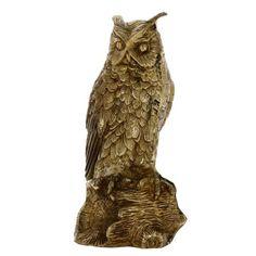 Brass Metal Art Gifts Owl Home Decorations Indian Birds Figurines 10 Inches ShalinIndia http://www.amazon.in/dp/B00JBYNXGY/ref=cm_sw_r_pi_dp_I5xaub00PF0FB