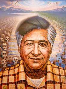 Cesar Chavez Painting