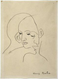 Francis Picabia (1879 - 1953)  Sans titre [Transparence (Visages)] vers 1930