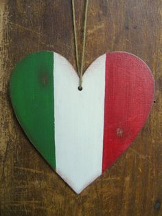 Italy flag Italian flag car decoration home by BalticWoods on Etsy