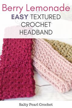 When I thought about what sort of crochet headband pattern I'd like to make next for the April Flowers CAL I'm hosting with Kirsten, two things stood out. Crochet Food, Crochet Baby, Free Crochet, Crochet Ear Warmer Pattern, Crochet Headband Pattern, Crochet Hair Accessories, Crochet Hair Styles, Crochet Patterns For Beginners, Knitting For Beginners