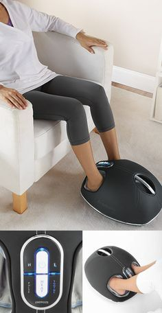 Shiatsu Foot Massager with Heat Therapy. #bestfootmassager #footmassagemachine #homefootmassager http://www.foottherapy.net/