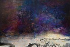 Zao Wou-Ki's 10.03.83, Oil on Canvas, 200 x 325 cm. Est. HKD25 – 32 million / USD3.2 – 4.1 million. Photo: Sotheby's.