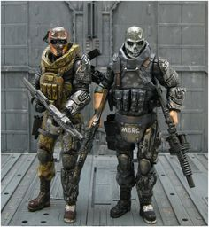 toycutter: Army of Two, Bludgeon action figures