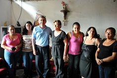 Oscar Arias en el Distrito de Pavas