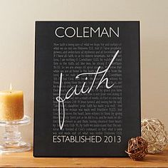 Faith Family Plaque | Personal Creations