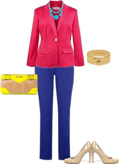 """""""Spring Color Blocking Plus Size"""" by alexawebb ❤ liked on Polyvore"""