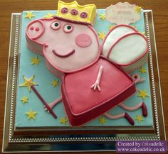 Related Pictures Chocolate Fairy Peppa Cake Ideas And Designs cakepins.com