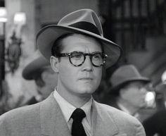 George Reeves as Clark Kent