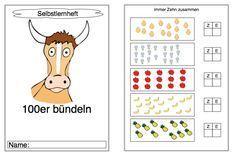 Förderheft: Zehner- und Einer, bündeln, Schreibweise von Zehnerzahlen.