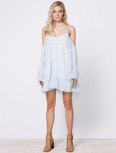 Morning Haze Mini Dress