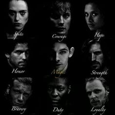 I love this! But you would think Gwaine and Percival would be switched