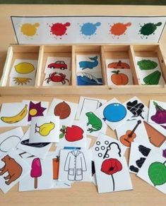 montessori kleinkinder selbstgemacht - Welcome to our website, We hope you are satisfied with the content we offer. Preschool Learning Activities, Infant Activities, Preschool Activities, Montessori Toddler, Montessori Toys, Montessori Color, Montessori Materials, Kids Education, Crafts For Kids