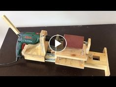 4 in 1 Drill Press Build Pt3 : Thickness Sander