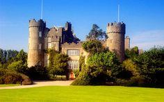 castles+of+Ireland | Ireland Dublin Clontarf Castle Wallpaper