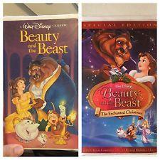 Beauty and the Beast Black Diamond & Special Edition RARE Disney Classics