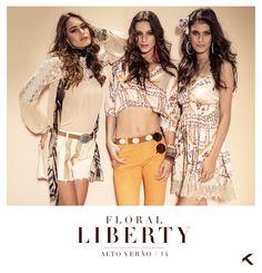Floral Liberty - Moikana Vestidos e roupas lindas!!!