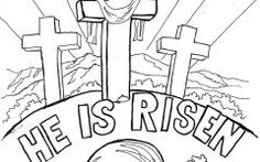 Beautiful Free Easter Coloring Pages Religious Ideas