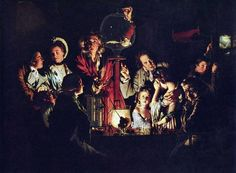 Joseph Wright of Derby, Experiment with a Bird in an Air Pump, 1768