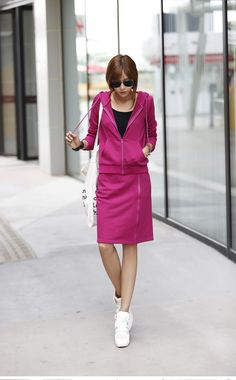 Find More Blazer & Suits Information about 2014Autumn new product of women's fashion leisure sports two sets of L dress,High Quality dress m,China dress styles a line Suppliers, Cheap dress philippines from guangwu on Aliexpress.com