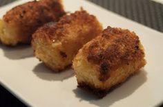 mash potato croquettes