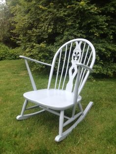 Gorgeous Ercol Rocking Chair Was Rescued In A Terrible State Though Now Looks Both Fabulous