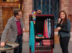 Peter Walsh's Four Tips for Organizing Your Accessories -- favorite tips are using large button for storing stud earrings and men's tie rack for hanging your scarfs. Clutter Organization, Organizing Life, Organising, Peter Walsh, Towel Rod, Own Home, Getting Organized, Declutter, Clean House