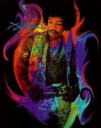 Jimi Hendrix poster in simple but eye-popping, purple picture frame Jimi Hendrix Experience, Rock Posters, Concert Posters, Music Posters, Woodstock, Blues Guitar Lessons, Guitar Tips, Guitar Solo, Guitar Chord