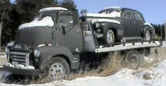 1950 GMC Cabover Truck - All stock,