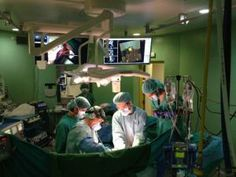 First cancer operation room with navigator is created