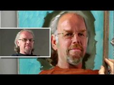 Portrait painting from life by Ben Lustenhouwer - YouTube