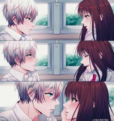 married to saeran choi Anime W, Chica Anime Manga, Anime Couples Manga, Anime Kawaii, Cute Anime Couples, Manga Girl, Anime Girls, Mystic Messenger Unknown, Mystic Messenger Yoosung