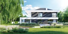 Alma-nac designed House in the Woods, a prefabricated timber home is nestled within England's South Downs National Park. 20x30 House Plans, Modern House Floor Plans, Prefab Cabins, Prefab Homes, Sips Panels, Modern Family House, 2 Storey House Design, Timber House, Dream Home Design