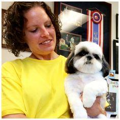 #perfectgroom #shihtzu #puppycut Jennifer and Lola