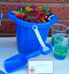 gummy bucket. #NauticalParty #partycheap