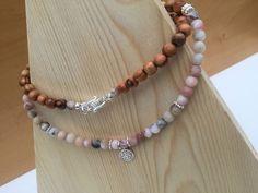 Halsketten von - dilua - schmuck und accessoires Pearl Necklace, Beaded Necklace, Pearls, Jewelry, Fashion, Czech Glass Beads, Silver Pendants, Gems, Handmade