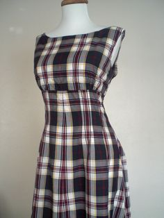 how to make a flannel dress