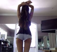 Not a Bikini, but Ariana Grande Showing Off Her Butt On Instagram