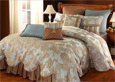 nice bedspread: http://decorlinen.com/images/comforters/comforters-57.jpg