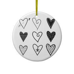 Hearts Ornament #Hearts #Love #Ornament